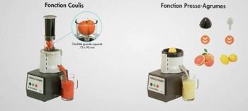 Kit cuisine Robot Coupe coulis et presse agrumes