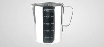Pichet à mesurer inox 5 Litres