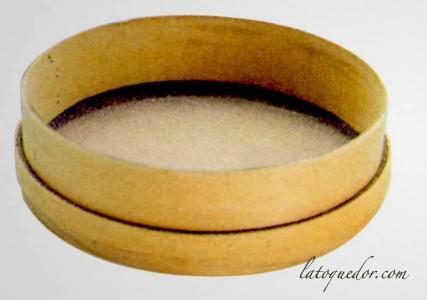Tamis bois toile inox 35 cm