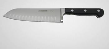 Couteau santoku alvéolé forgé Chef Style