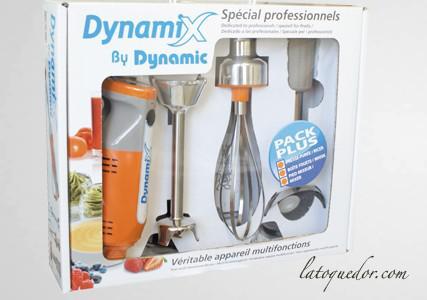 Mini mixeur Dynamix pack PLUS