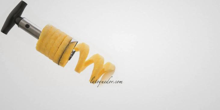 Vide tranche ananas