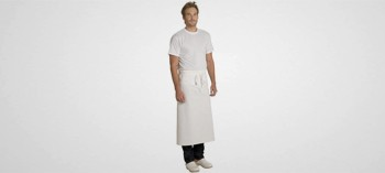 Tablier de Chef blanc 90 cm