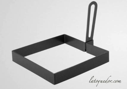 Moule à oeuf anti-adhésif carré