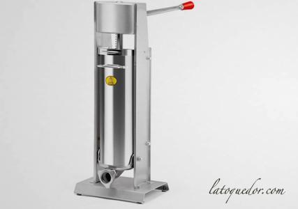 Poussoir à saucisse professionnel inox vertical 10L