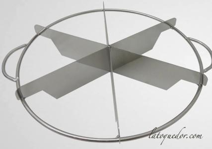 Diviseur coupe gateau inox 7 parts
