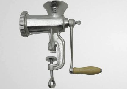 Hachoir manuel aluminium