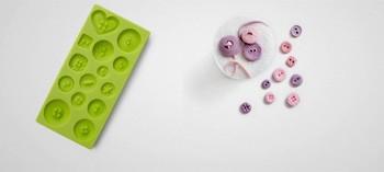 Moule bouton 3D pour pâtes à sucres