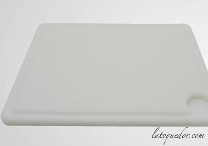 Planche à découper polypropylène avec rigole