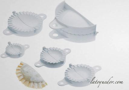 Moule à chausson plastique (x5)