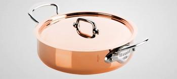 Sautoir cuivre inox Mauviel M'150S