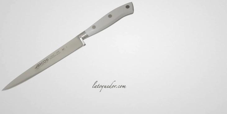 Couteau filet de sole Riviera manche blanc