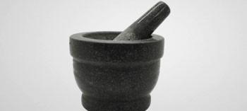 Mortier à épices en granit