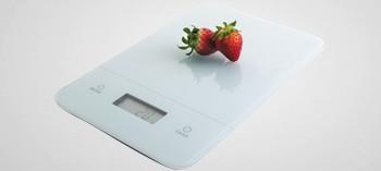 Balance de cuisine plateau verre 5kg