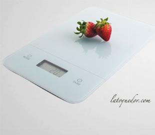 Balance de cuisine plateau verre 5 kg / 1 g