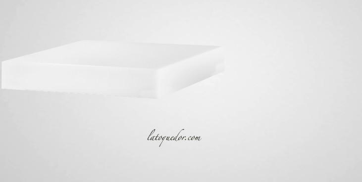 Billot à découper en polyethylene