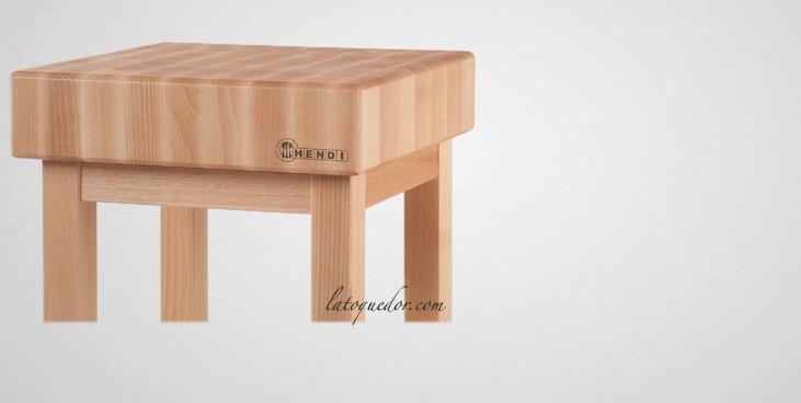 billot de cuisine en bois sur pied planche d couper. Black Bedroom Furniture Sets. Home Design Ideas