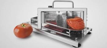 Coupe tomates rondelles inox Lacor